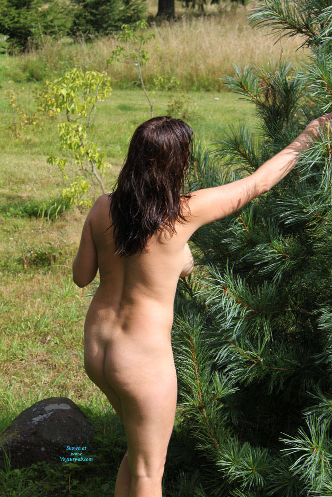 Pic #4 In Nature - Nude Amateurs, Brunette, Outdoors, Nature