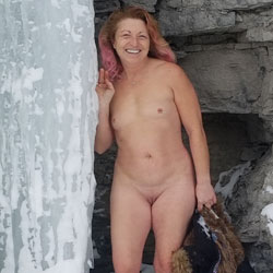 Winter Wonderland - Nude Amateurs, Outdoors, Redhead, Nature