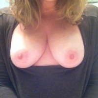 Medium tits of my girlfriend - Shy Soccermom