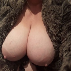 Large tits of a co-worker - Gee-Gee from Yorkshire is back