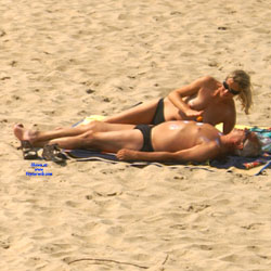 Just A Couple - Beach, Outdoors, Beach Voyeur