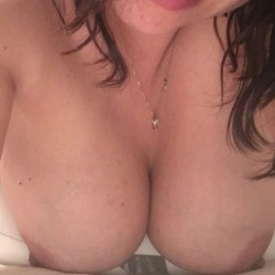 Large tits of my girlfriend - Becky