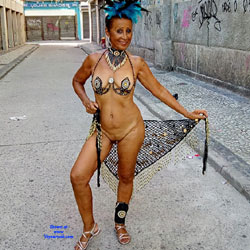 Luna 70 Years In The Carnival Of Rio 2018 - Public Exhibitionist, Flashing, Outdoors, Public Place, Amateur