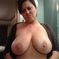Very large tits of my ex-girlfriend - Heather