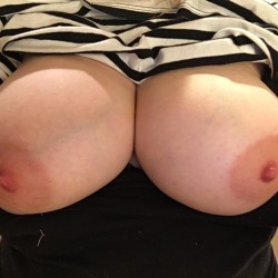 Large tits of my wife - MollyAnn