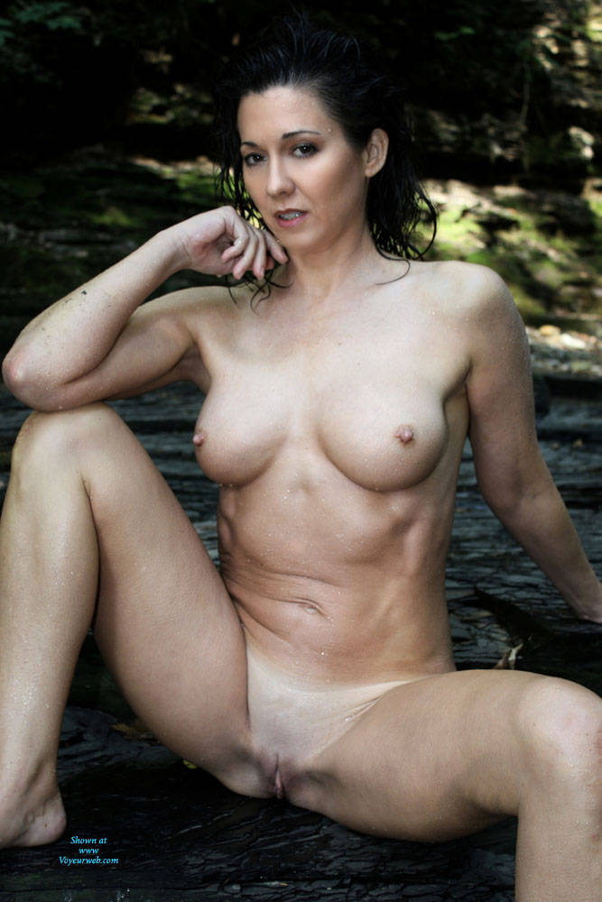 Pic #9 My Old Broad - Nude Wives, Big Tits, Brunette, Outdoors, Shaved, Nature, Amateur, Mature