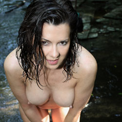 Wet And Wild In Outdoor - Big Tits, Brunette Hair, Exposed In Public, Full Nude, Naked Outdoors, Nipples, Nude In Nature, Perfect Tits, Water, Wet, Hot Girl, Sexy Body, Sexy Boobs, Sexy Face, Sexy Figure, Sexy Girl, Sexy Legs, Sexy Woman