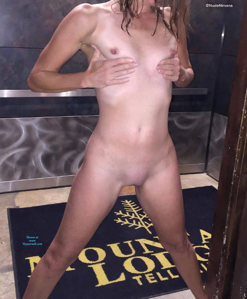 Pic #6 Nirvana Dare - Nude Girls, Public Exhibitionist, Flashing, Public Place, Shaved, Amateur, Brunette
