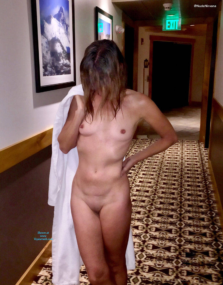 Girl naked in public dare