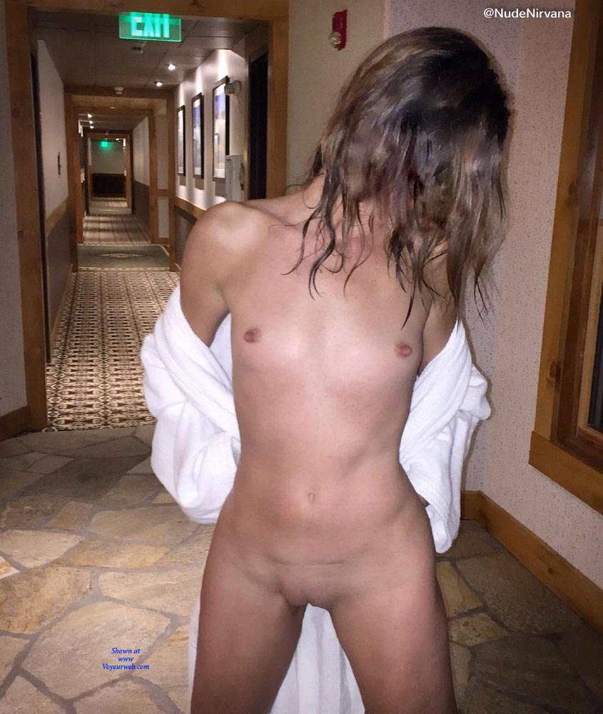Pic #9 Nirvana Dare - Nude Girls, Public Exhibitionist, Flashing, Public Place, Shaved, Amateur, Brunette