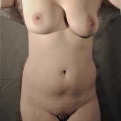 Medium tits of my wife - Marie