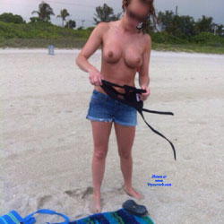 A Couple Pics From Haulover Beach - Topless Girls, Beach, Big Tits, Outdoors, Amateur