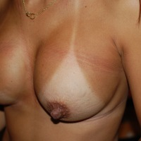 Medium tits of my wife - shybarai