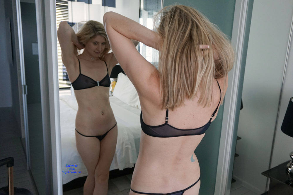 Pic #2 Sheer Bliss - Blonde, Lingerie, See Through, Amateur
