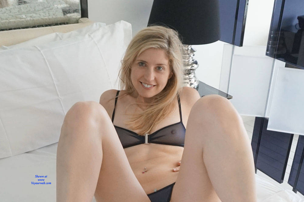 Pic #7 Sheer Bliss - Blonde, Lingerie, See Through, Amateur