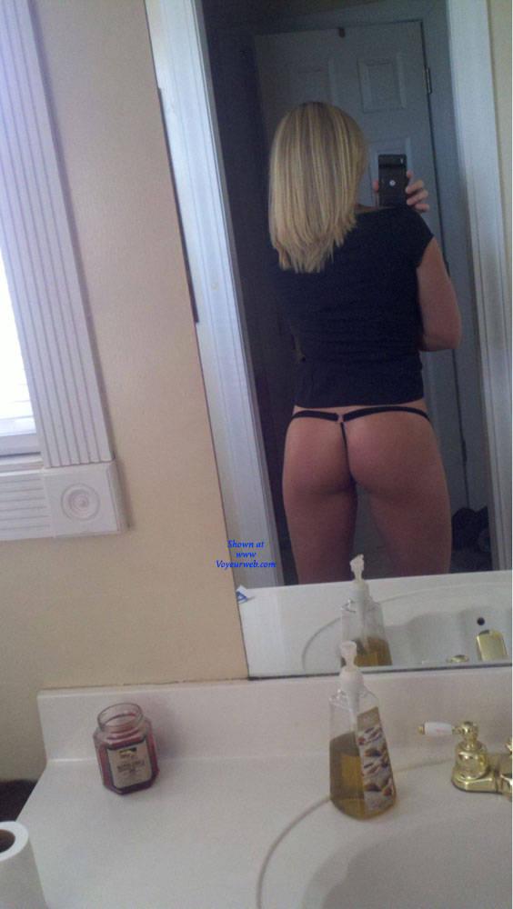 Pic #7 At Work - Blonde, Amateur