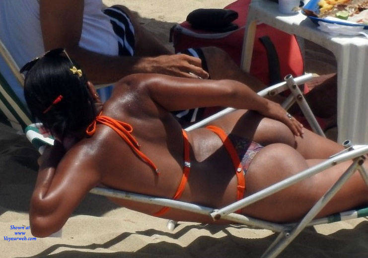 Pic #2 Delicious Asses From Recife City, Brazil - Beach, Brunette, Outdoors, Bikini Voyeur, Beach Voyeur