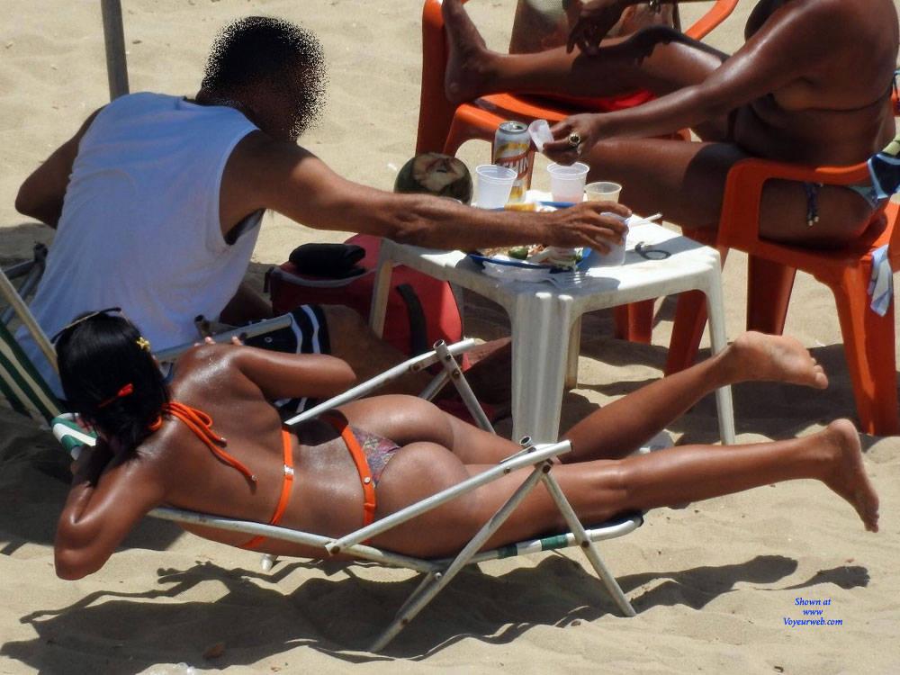 Pic #5 Delicious Asses From Recife City, Brazil - Beach, Brunette, Outdoors, Bikini Voyeur, Beach Voyeur