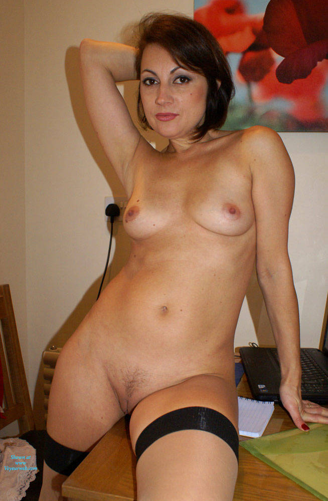Anna's Sexy Stockings - Brunette Hair, Indoors, Natural Tits, Nipples, No Panties, Shaved Pussy, Stockings, Hairless Pussy, Hot Girl, Sexy Body, Sexy Boobs, Sexy Face, Sexy Figure, Sexy Girl, Sexy Legs, Sexy Woman , Anna, Stockings, Shaved Pussy, Legs, Natural Tits