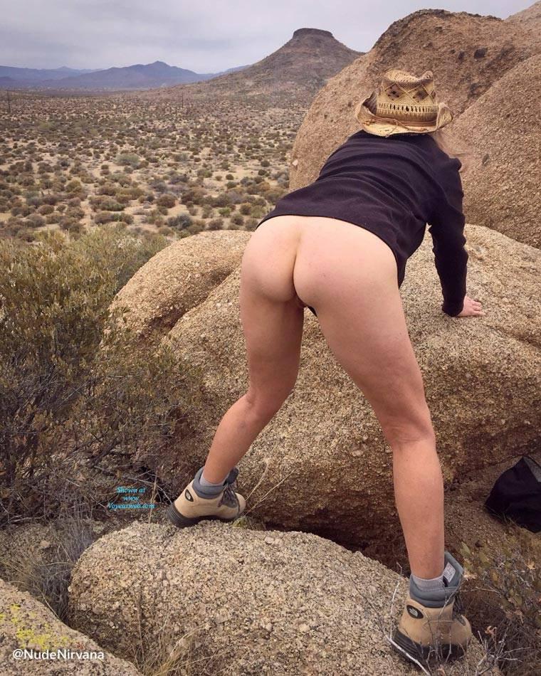 Boobs Naked Girls Hiking Scenes