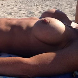On The Beach - Topless Wives, Beach, Outdoors