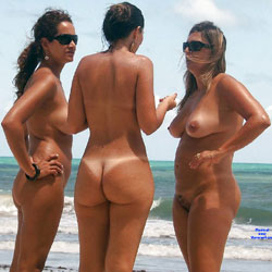 Tambaba Beach, Brazil - Nude Girls, Beach, Outdoors, Beach Voyeur