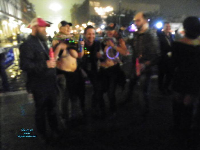 Pic #3 Galveston, TX Mardi Gras - Big Tits, Outdoors, Public Place