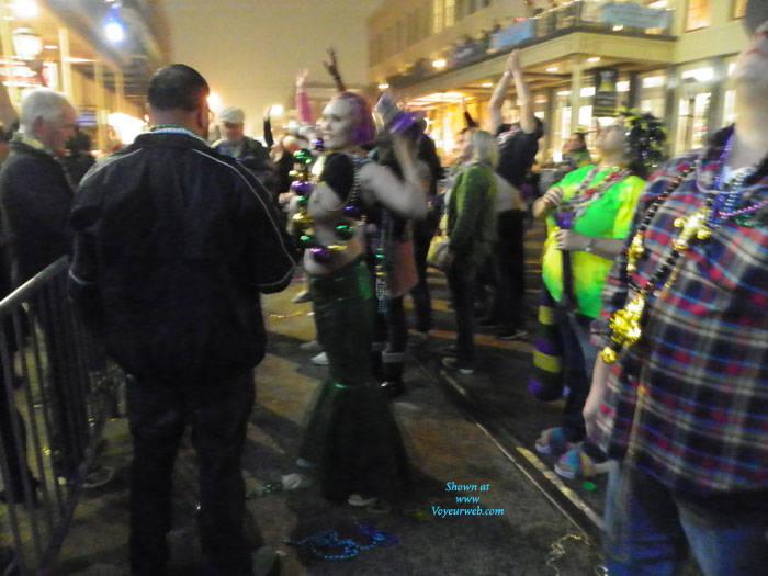 Pic #7 Galveston, TX Mardi Gras - Big Tits, Outdoors, Public Place