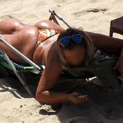 Big Ass From Pina Beach - Big Ass, Outdoors, Bikini Voyeur, Beach Voyeur