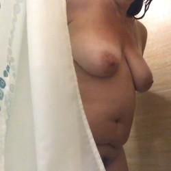 Medium tits of my wife - Horny Wife