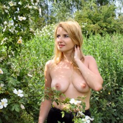 Large tits of my girlfriend - Caroline