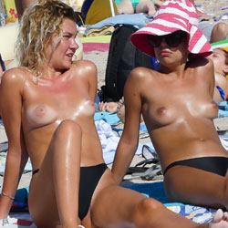 Topless Chicks At The Beach - Big Tits, Bikini, Blonde Hair, Brunette Hair, Firm Tits, Girls, Hard Nipple, Nipples, Nude Beach, Nude In Nature, Nude In Public, Nude Outdoors, Showing Tits, Topless Beach, Topless Girl, Topless Outdoors, Topless, Beach Tits, Beach Voyeur, Hot Girl, Sexy Body, Sexy Face, Sexy Figure, Sexy Girl, Sexy Legs