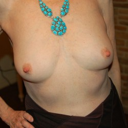 Small tits of my wife - My sexy wife