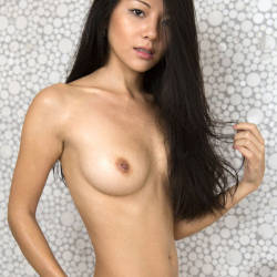 Pic #4 Annie - Nude Girls, Asian, Big Tits, Brunette