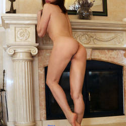 Pic #1 At Home - Nude Girls, Big Tits, Brunette, Shaved, Amateur, Firm Ass