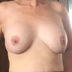 Medium tits of my wife - Julie