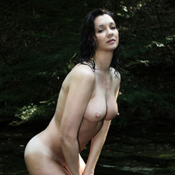 More Of My Old Broad - Nude Wives, Big Tits, Brunette, Outdoors, Nature, Amateur