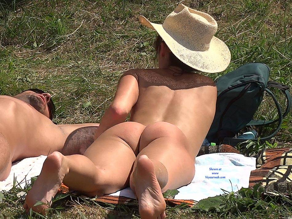 Straw Hat 2 , Nude, Outdoors, Big Tits