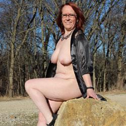 Beaver Creek - Big Tits, Mature, Outdoors, Redhead, Nature, Amateur