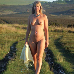Warm Spring Sun - Nude Girls, Blonde, Outdoors, Shaved, Amateur