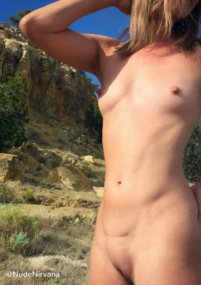 Pic #4 Nirvana Blue Sky - Nude Amateurs, Outdoors, Small Tits