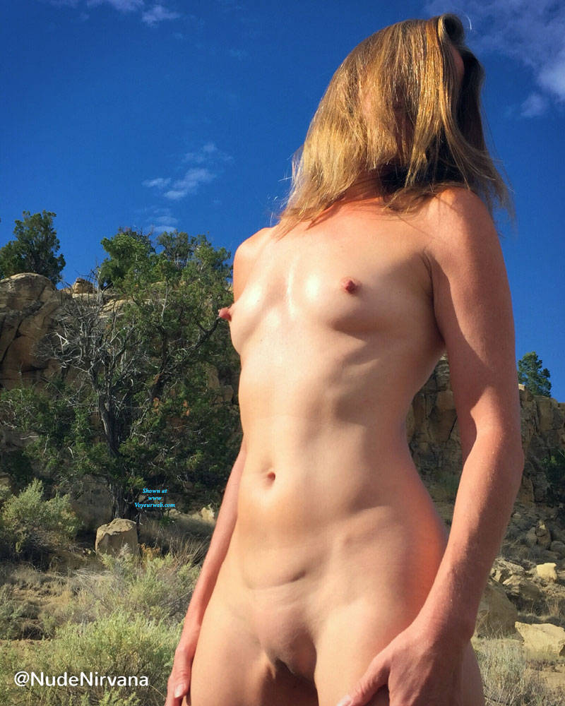 Pic #6 Nirvana Blue Sky - Nude Amateurs, Outdoors, Small Tits