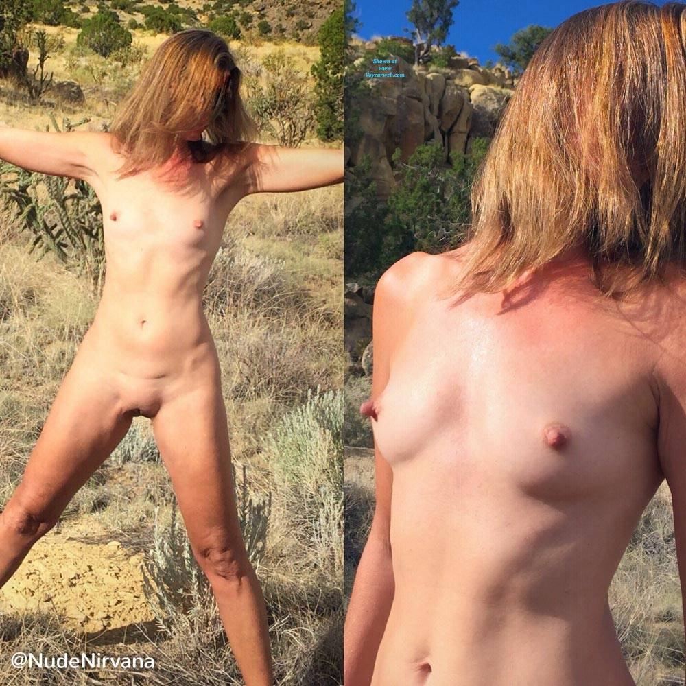 Pic #2 Nirvana Blue Sky - Nude Amateurs, Outdoors, Small Tits