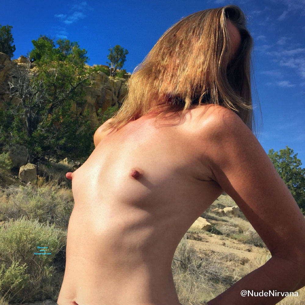 Pic #8 Nirvana Blue Sky - Nude Amateurs, Outdoors, Small Tits
