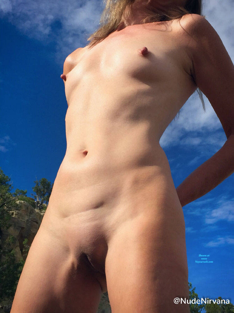 Pic #9 Nirvana Blue Sky - Nude Amateurs, Outdoors, Small Tits