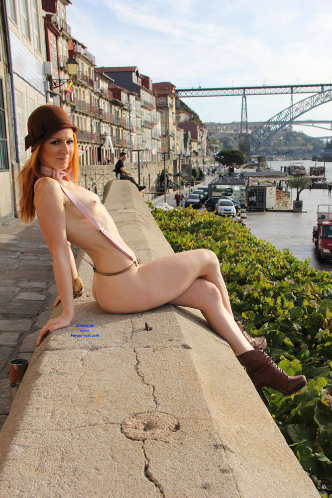 Pic #9 Vienna - Porto Sightseeing - Nude Girls, Public Exhibitionist, Flashing, Outdoors, Public Place, Redhead, Shaved, Firm Ass