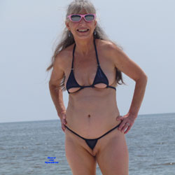 Mature Wife's Public Extreme Bikini - Beach, Mature, Outdoors, Wife/Wives, Amateur