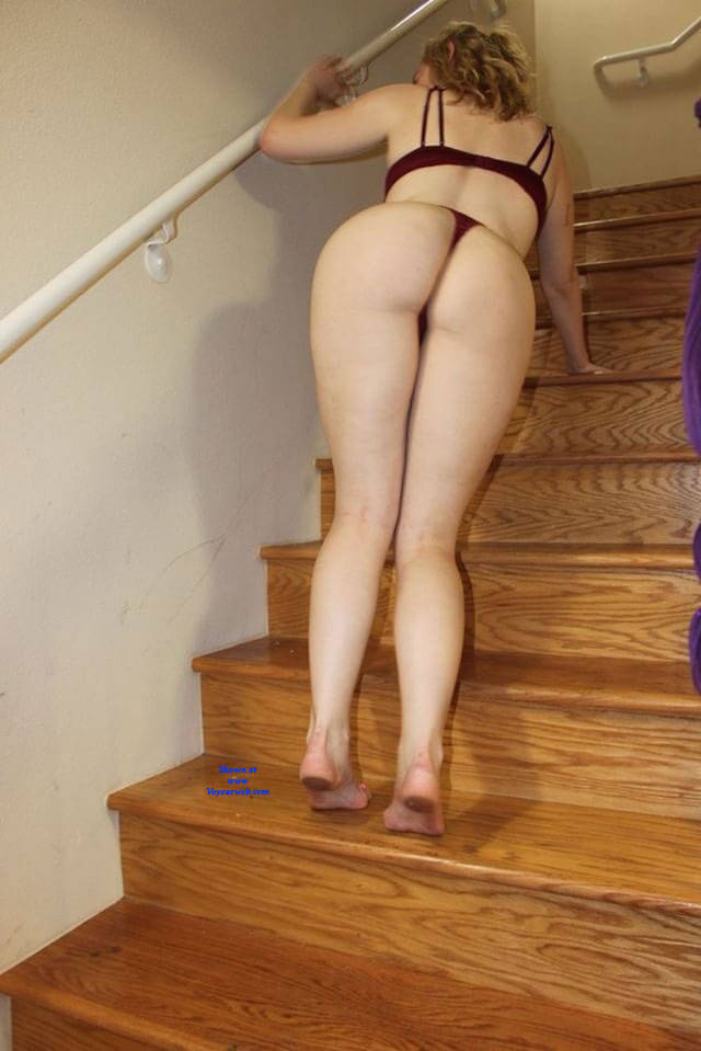 Pic #2 Ass Out - My First Post - Lingerie, Amateur