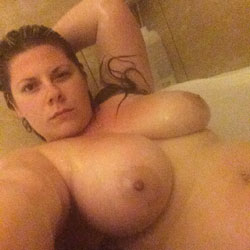 Shower Fun - Big Tits, Brunette, Amateur, Wife/Wives