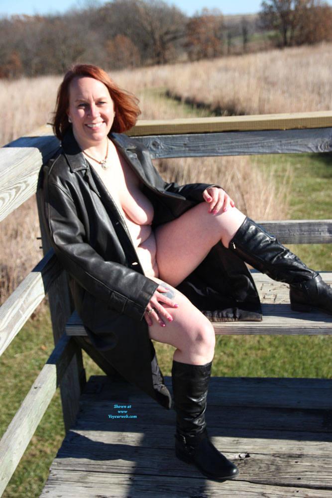 Pic #8 Beaver Creek - Nude Girls, Big Tits, Outdoors, Redhead, Amateur